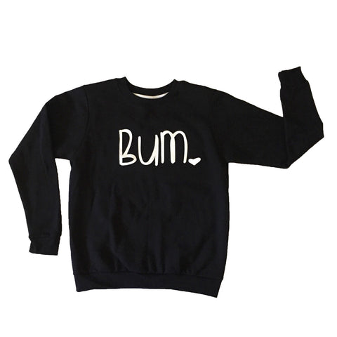 Toddler + Youth Bum Pullover Sweatshirt