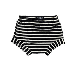 Black Stripe Shorties