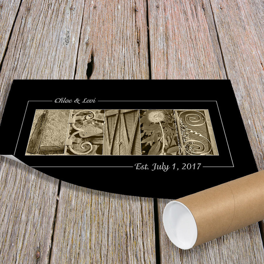 Personalized Wedding Gift Idea for Couples