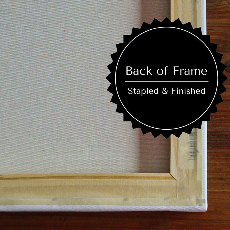 Back of Frame for Tree Wedding Guest Book