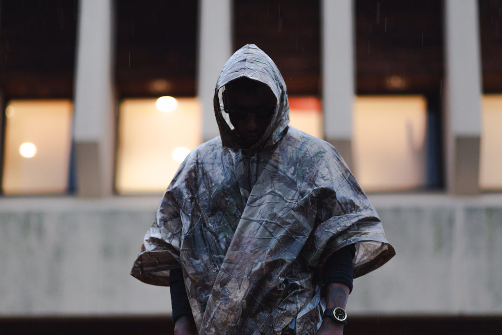 The C.I.D. Rain Poncho