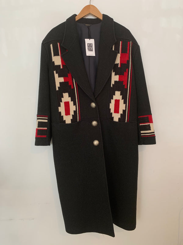70s Southwest Wool Coat