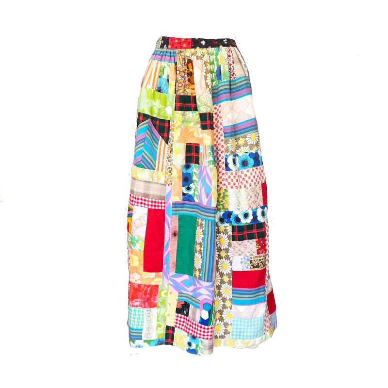 1970's Patchwork Skirt