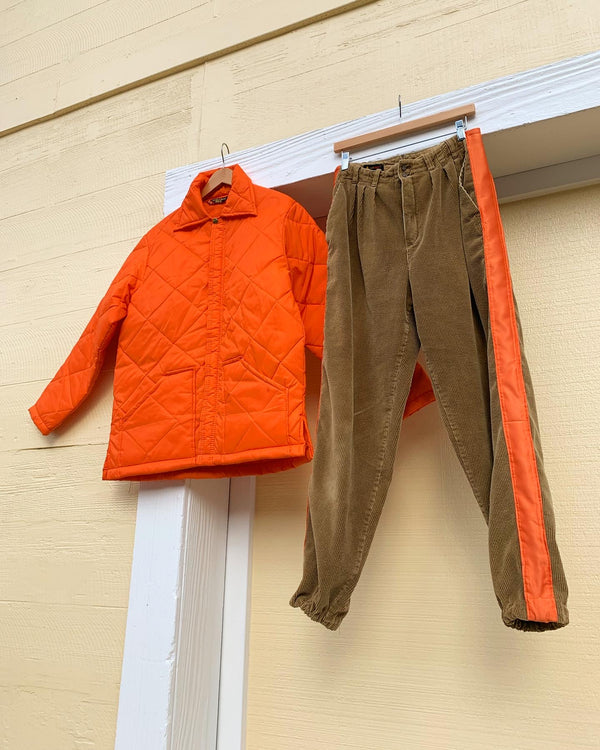Upcycled Corduroy Jogger pants