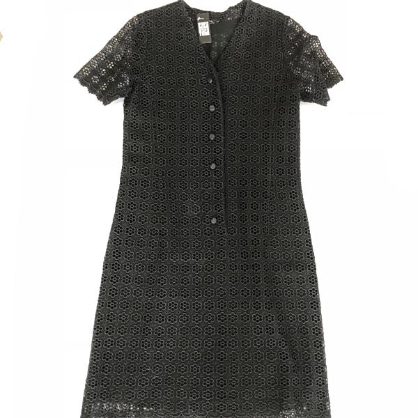 60's Japanese Black Lace dress