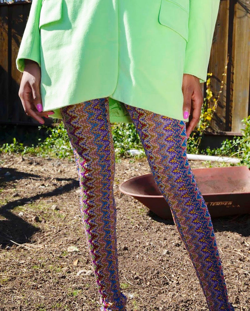 80s Betsey Johnson leggings