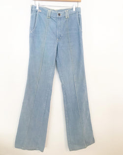 1970s brushed cotton bell bottoms
