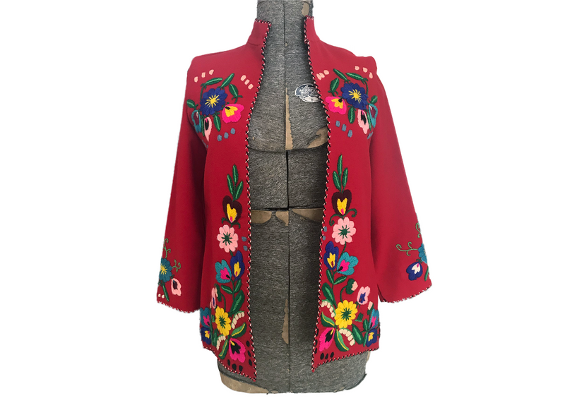 1950's Wool Embroidered Jacket
