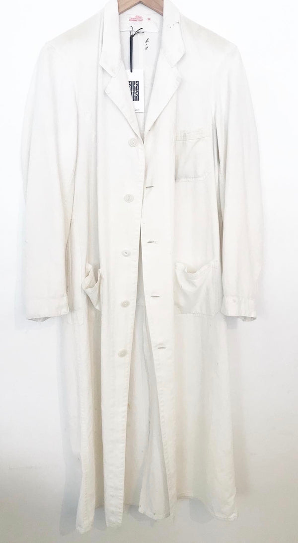 1940's Sanitary Market Work Coat