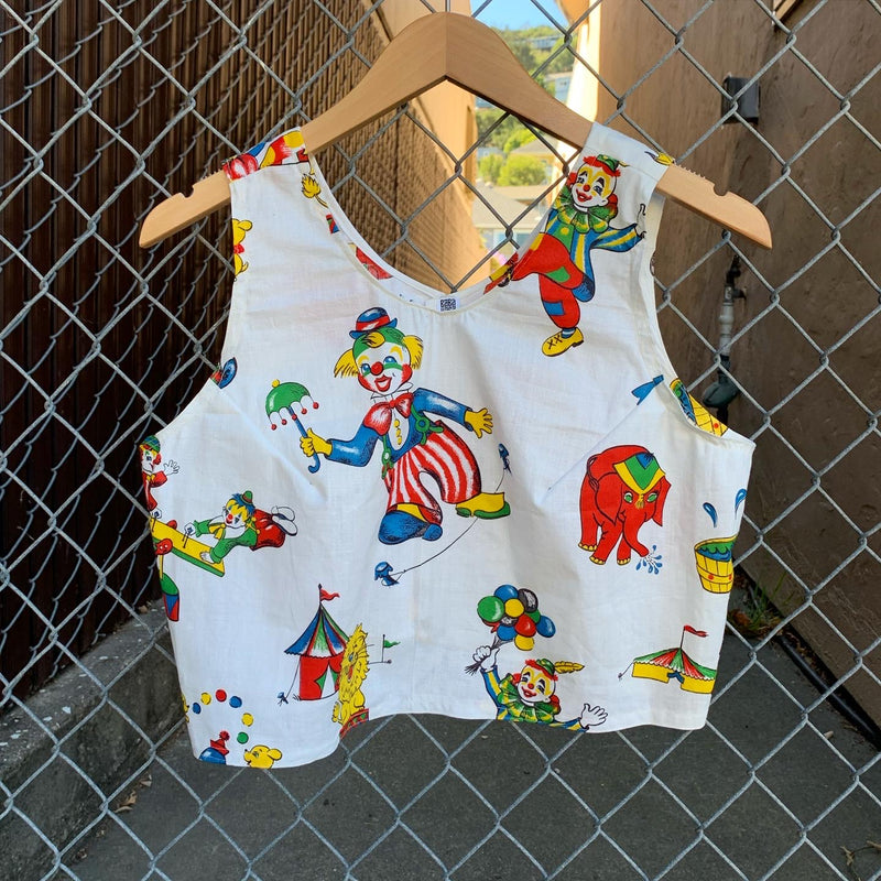 Upcycled clown tank