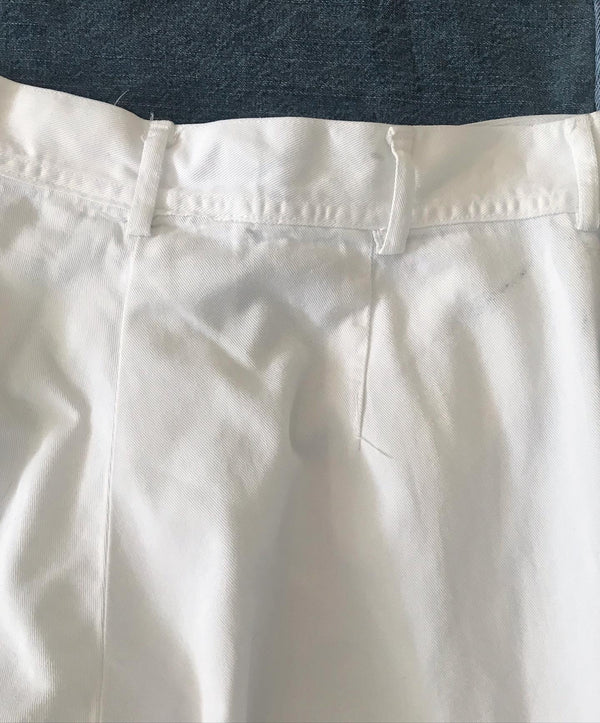 1940s White Sailor Pants