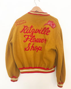 Vintage Ritzeville Flower Shop Letterman