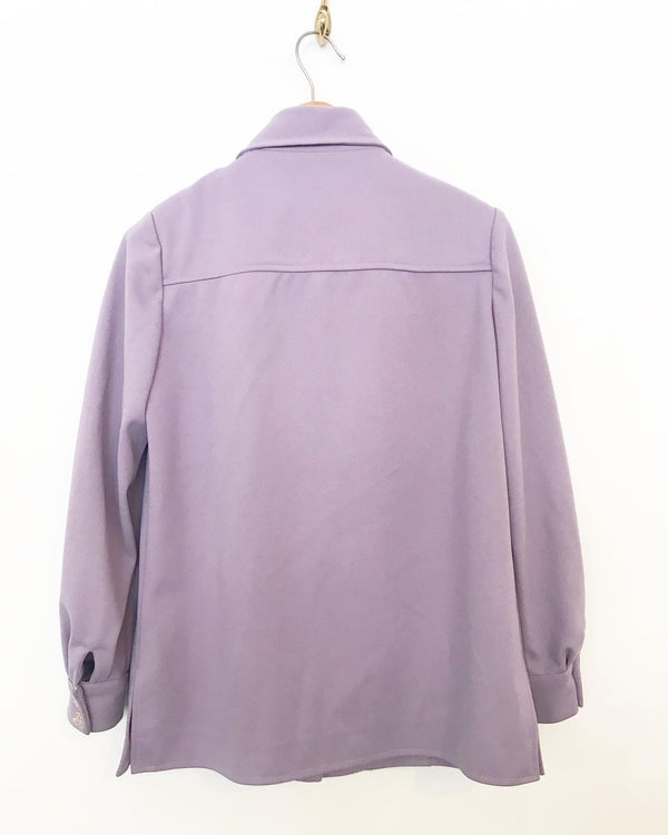 1970's Purple Givenchy Jacket