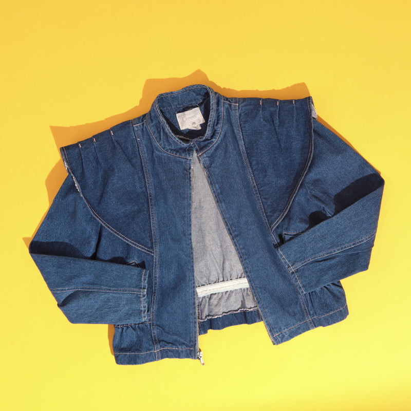 1980's Avant Garde Denim Jacket