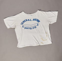 Vintage General Brown Phys Ed Tshirt