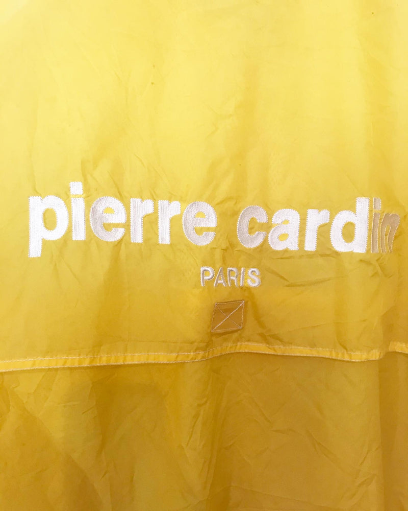 1990's Yellow Pierre Cardin Windbreaker