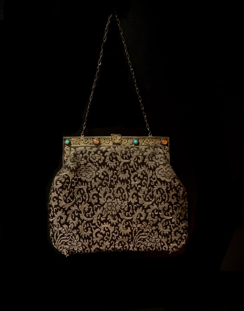 1930s Cloth Purse