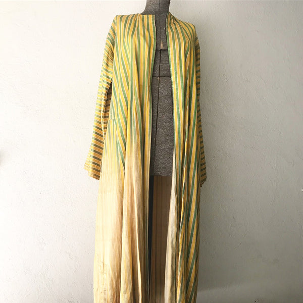 40's Striped Moroccan Duster