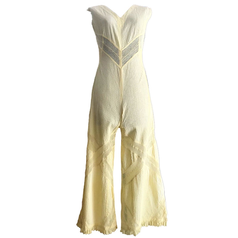 60s Mexican Resort-Wear jumpsuit