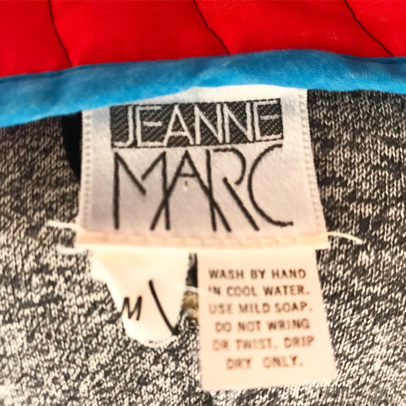 1970's Jeanne Marc Quilted Dress