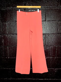 1970's High-waisted Salmon Flare Pants