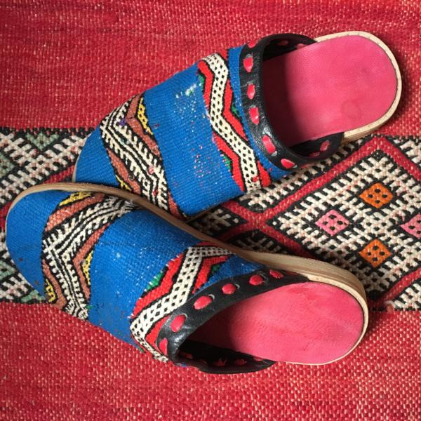 Woven Moroccan Slippers