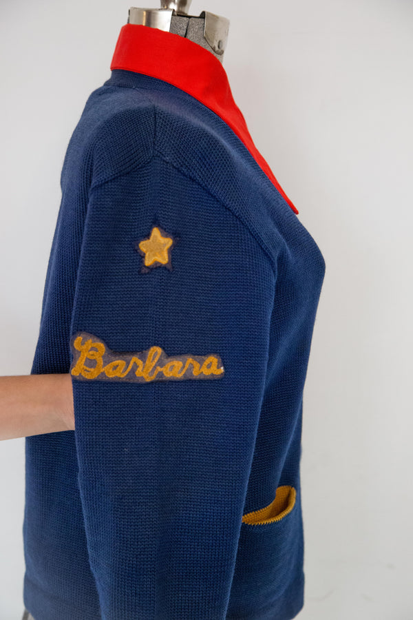 Early 50s Barbara Cheer Cardigan