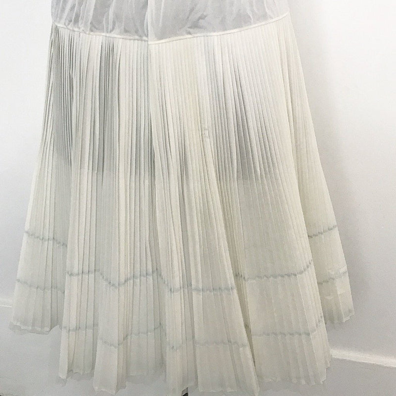 Accordion Pleat Skirt Slip