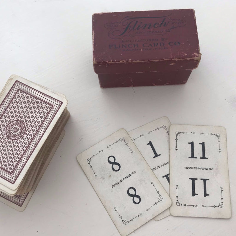 1913 Flinch Card Game