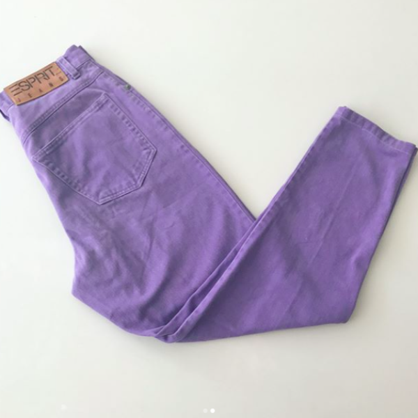 Esprit Purple Jeans