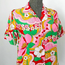 Psychedelic Button Up Shirt