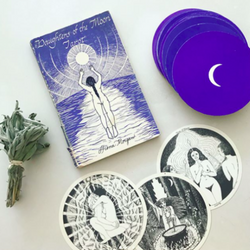 1986 Daughters of the Moon Tarot Cards & Book
