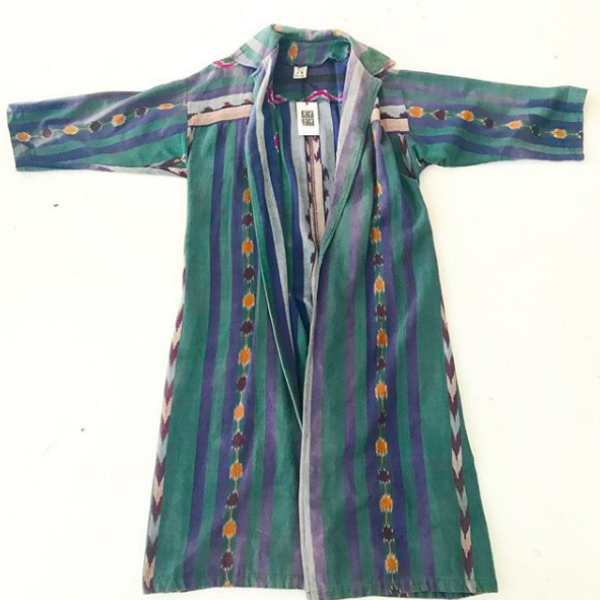 Long Guatemalan Duster Coat