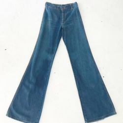 70's Chemin De Fer Jeans with Stitched Pockets