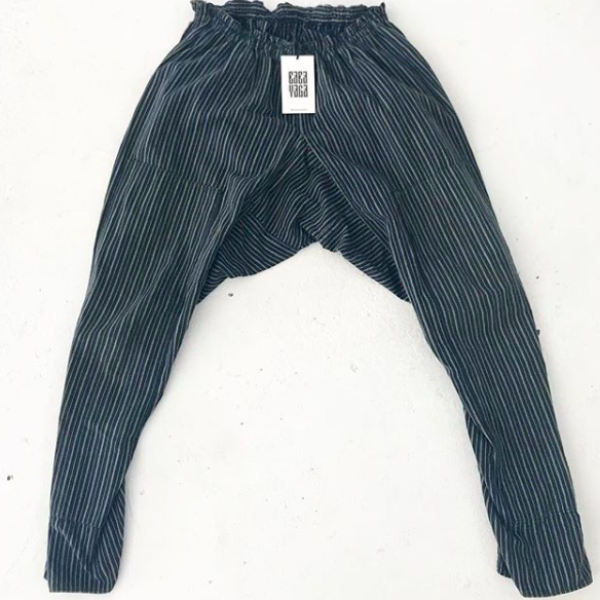 Japanese Striped Work Pants