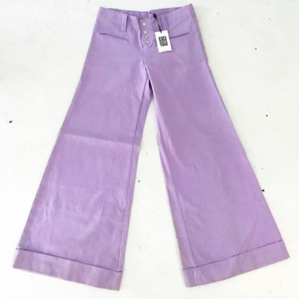 Vintage Lavender Bellbottoms