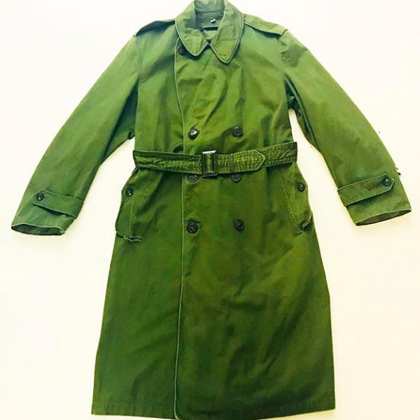 1950's Army Trench Coat