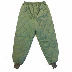 1970s Army Quilted Trousers