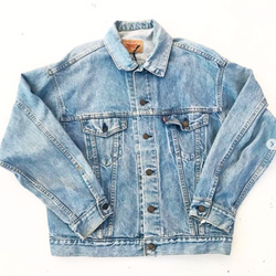 Levi Strauss Lightwash Denim Jacket