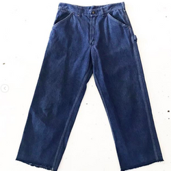 70's Sear's Cropped Denim Work Pants