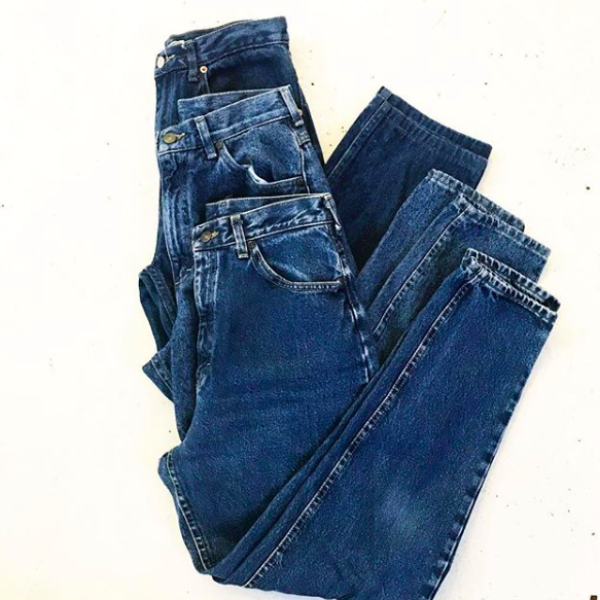 "80's ""Mom"" Jeans High Waisted and Tapered"