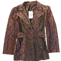 70's Multicolor Lurex Jacket