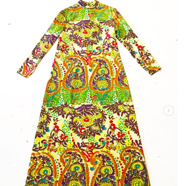 Don Luis de Espana Maxi Dress (Paisley)