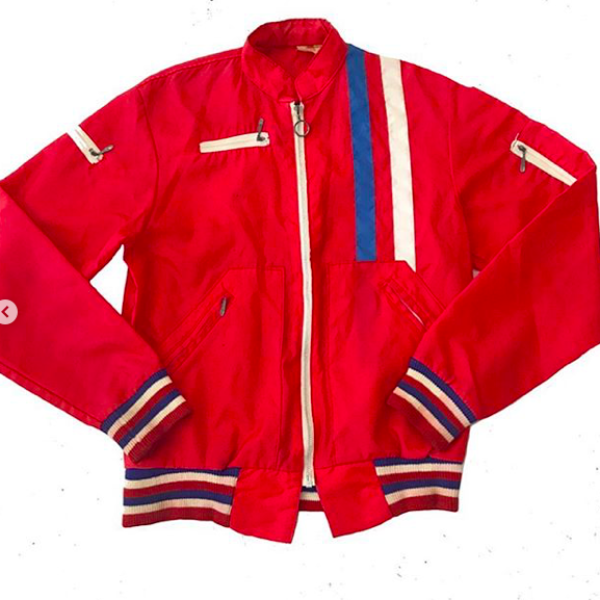 Vintage Red Sky Diving Jacket