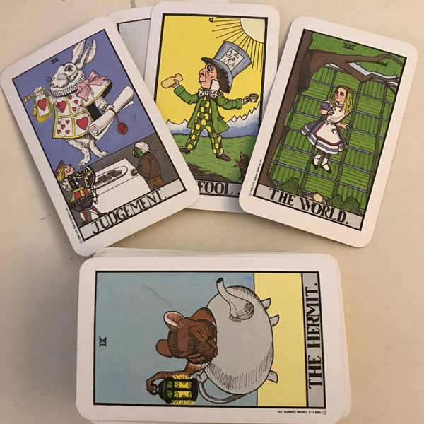 Vintage 1989 The Wonderland Tarot