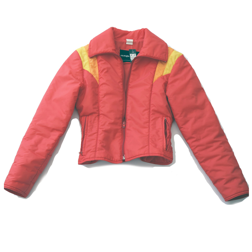 70's Red and Yellow Ski Jacket
