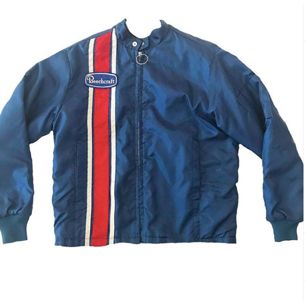 1960's Blue Swingster Jacket with Red Stripe