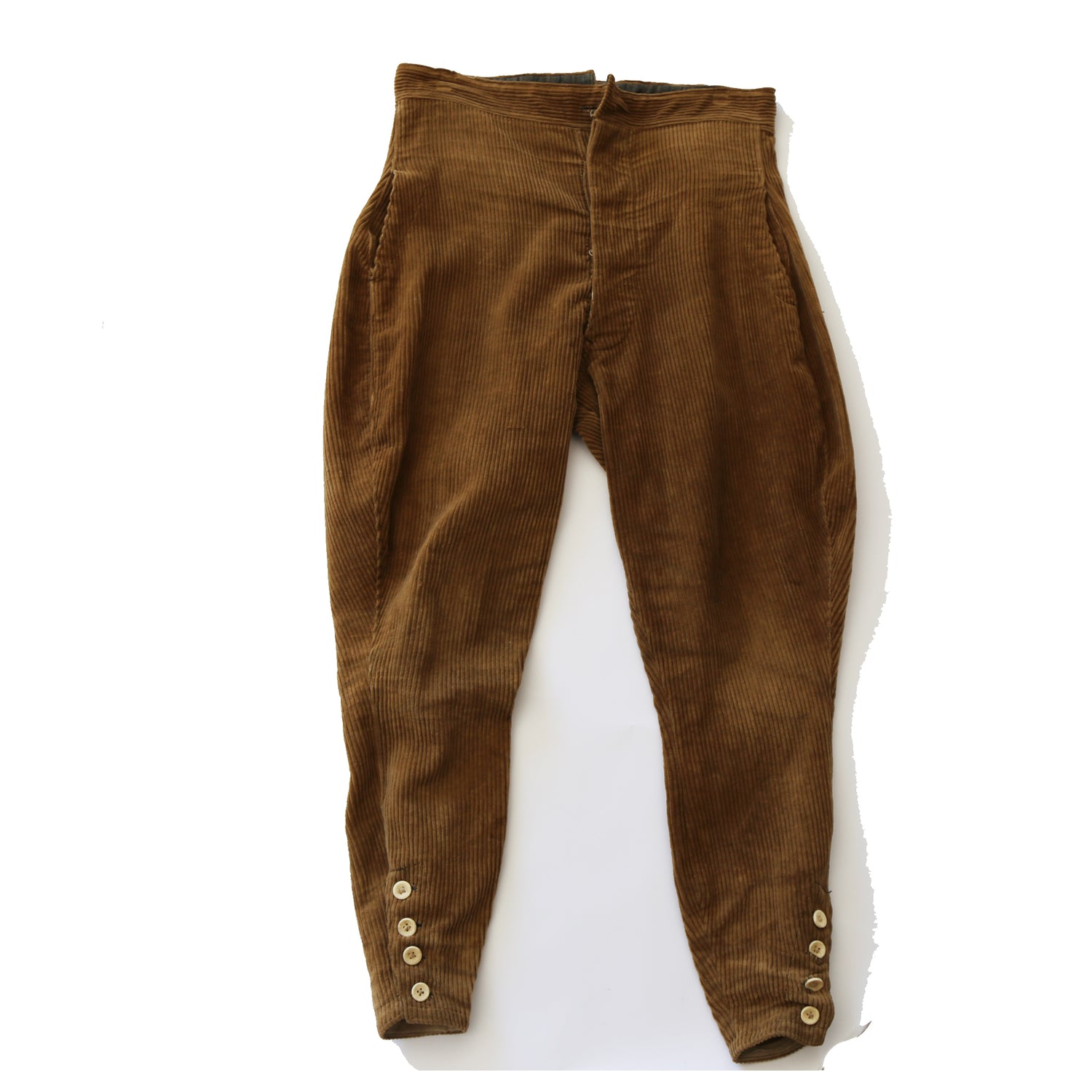 Japanese Wide Wale Cords Riding Pants