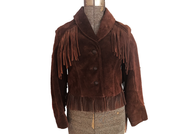 1970's Fringe Cropped Jacket