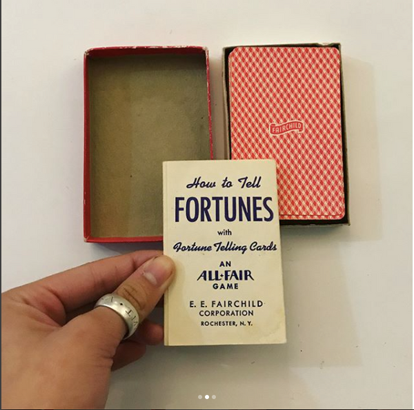 1950's FORTUNE TELLING CARDS